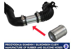 Aluminium Radiator Hose Connector / Pipe /Joiner