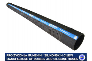 RUBBER SUCTION DUST HOSE FOR DEPTH DRILL