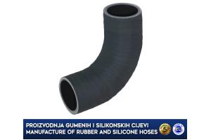 MINI COOPER / CLUBMAN 1.6D, lower intercooler turbo hose, 13712753079, 2753079