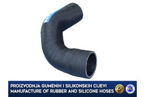 VOLVO V40 / S40 1.9D, MITSUBISHI CARISMA 1.9 Di, upper intercooler turbo hose, 30621587