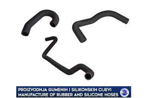 VOLVO PENTA P.7 MERCRUISER V8 PETROL ENGINE coolant hose set 855373, 834906, 826423