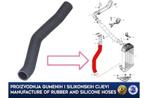 SUZUKI, intercooler turbo hose, 13661-68L50-000, 13661-68L50, 1366168L50