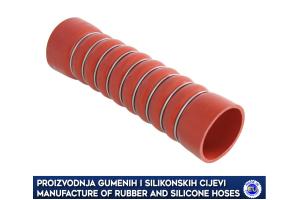 MERCEDES intercooler turbo hose, 3715017982, 3715018082