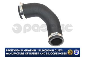 OPEL COMBO 1.6 CDTI / FIAT DOBLO 1.6 JTDM, intercooler turbo hose, 52044719, 16423205 B2, 16423205
