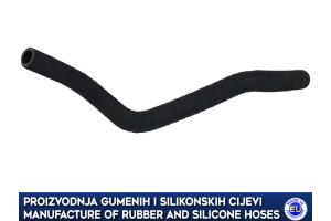 CHEVROLET DAEWOO / NUBIRA heater hose, 96256460, 96240692