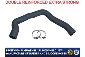 ALFA ROMEO 147 / 156 / GT 1.9 JTD, upper intercooler hose, 50508080, 50508081, 60689788, 51702364, 46814859