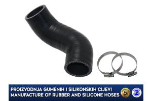 MINI COOPER / CLUBMAN / ONE 1.6D, upper intercooler hose, 13712753079, 2753079, 1017586S01