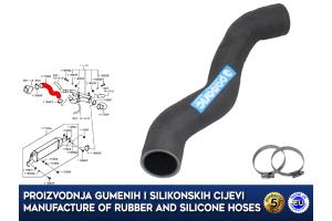 MITSUBISHI OUTLANDER / ASX / LANCER / 1.8 DI-D, intercooler turbo hose, 1505A537, 11756Q