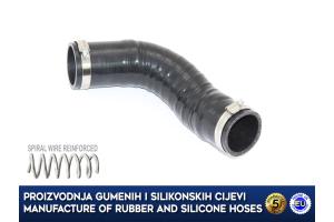 NISSAN QASHQAI 2.0 DCI, RENAULT KOLEOS 2.0 DCI, air charger intercooler hose, 144637670R, 14463JG70C, 14463JG70D